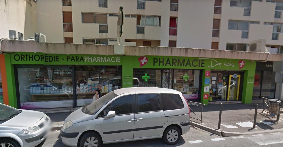 Photo de la devanture de Pharmacie des ECOLES